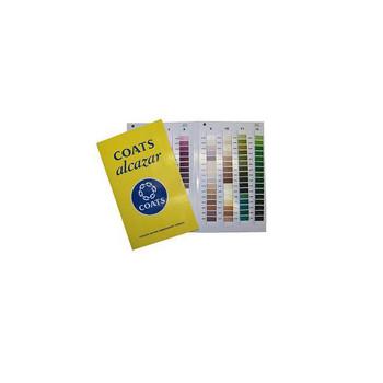 Coats Alcazar Color Card