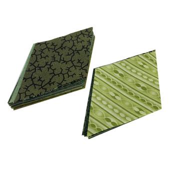 Mixed Greens - 5'' Diamonds