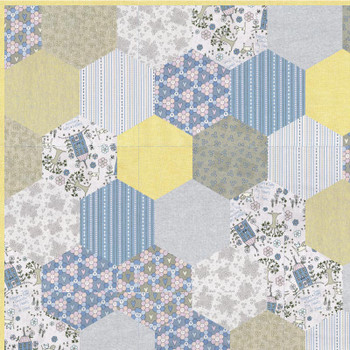 Our Town Hexies Quilt Kit