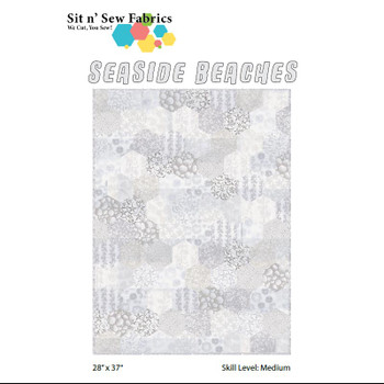 Seaside Beaches Hexies Quilt Kit