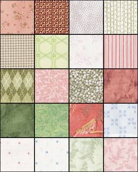Day Dreams - Fat Quarter Bundle/20pc