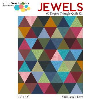 Jewels 60 Degree Triangle Quilt Kit