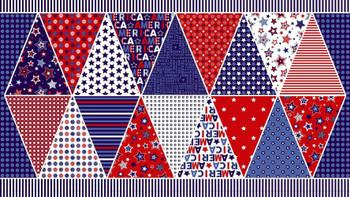 American Flag Pennant Panel Kit