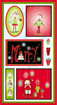 Christmas Elves Panel Kit