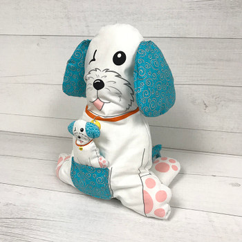 Joey the Shop Dog Plushie Panel Kit