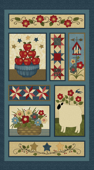 Liberty Hill Sheep 1 Panel Kit