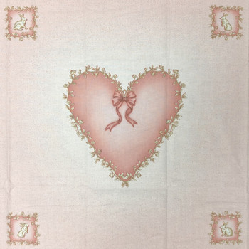 Pink Heart Pillow Panel Kit