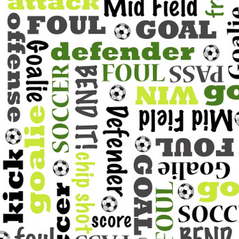 Soccer/Words Panel Kit