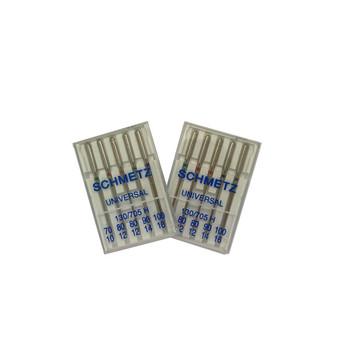 Schmetz Needles - Assorted Sizes - Flat - Universal