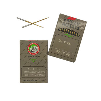 Organ Needles - 80/12 - DBxK5 - Titanium - Sharp (PD)