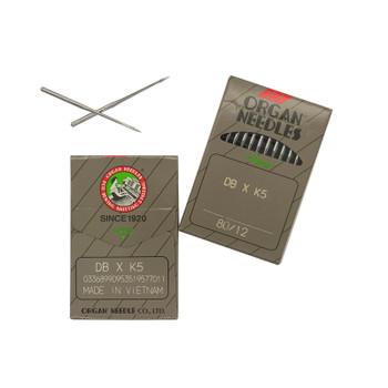 Organ Needles - 80/12 - DBxK5 - Sharp (S)