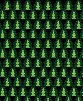 Benartex - Merry & Bright - Evergreen Trees - 8804M/12