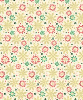 Benartex - Merry & Bright - Multi Snowflakes - 8799M/07