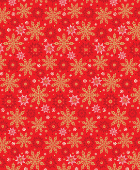 Benartex - Merry & Bright - Multi Snowflakes - 8799M/10