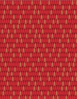 Benartex - Merry & Bright - Tiny Trees - 8802M/10