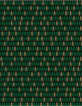 Benartex - Merry & Bright - Tiny Trees - 8802M/12