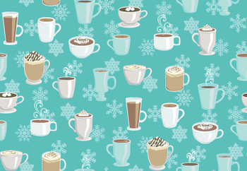 Benartex - Winter Games - Hot Cocoa - 3537/24