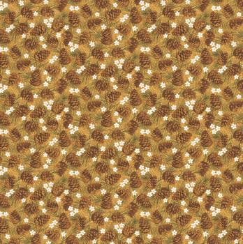 Benartex - Winter Wonderland - Pinecones - 4653/33