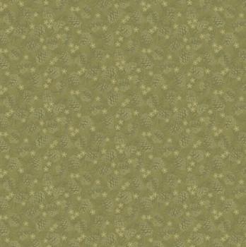 Benartex - Winter Wonderland - Tonal Pinecones - 4654/44