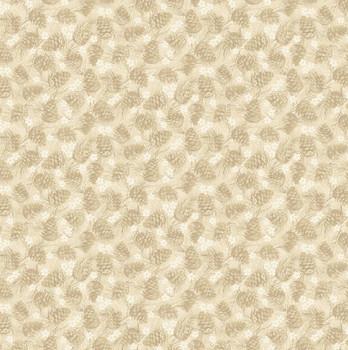 Benartex - Winter Wonderland - Tonal Pinecones - 4654/70