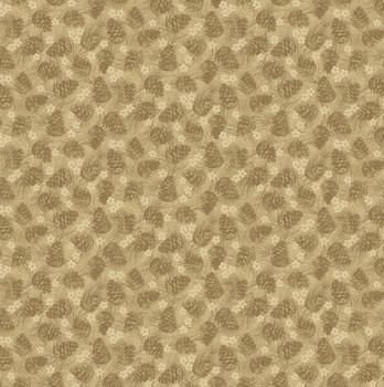 Benartex - Winter Wonderland - Tonal Pinecones - 4654/72