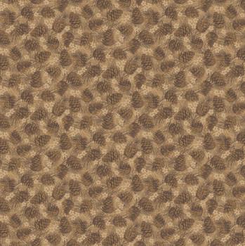 Benartex - Winter Wonderland - Tonal Pinecones - 4654/77