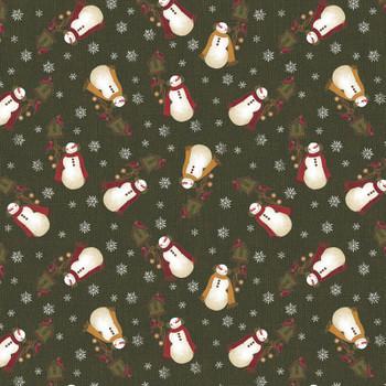 Benartex - Winter Wonderland - Tossed Snowmen - 4651/45