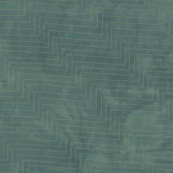 Riverwoods - Rainforest - Diagonal Zig Zag Stripes - 1876/2