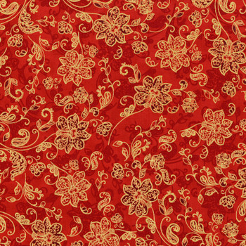 RJR - Merry Berry & Bright - Tonal Flowers - 3162/3