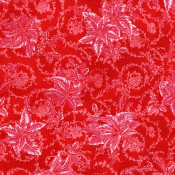 RJR - Merry Berry & Bright - Tonal Poinsettias - 3157/1