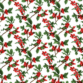 RJR - Merry Berry & Bright - Tossed Holly - 3156/1