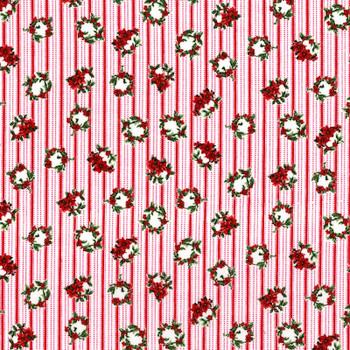 RJR - Merry Berry & Bright - Wreath Stripes - 3159/1