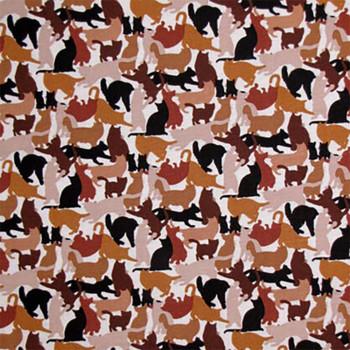 Cat Breeds - Cat Silouhettes - Brown