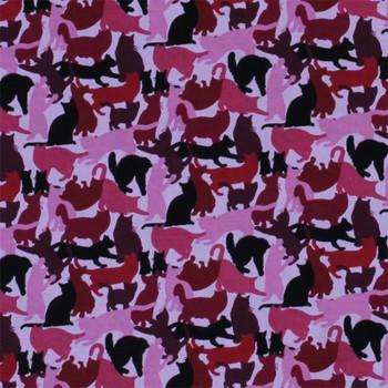 Cat Breeds - Cat Silouhettes - Pink