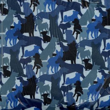 Dog Breeds - Dog Silhouttes - Blue