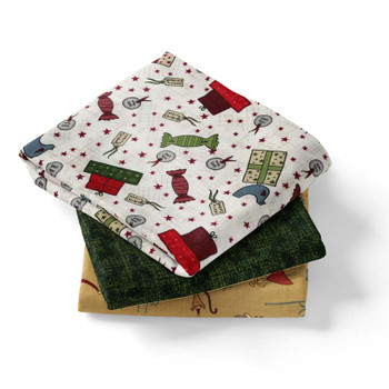 3 Yd Bundle - Peace on Earth