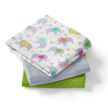 3 Yd Bundle - Baby Elephants