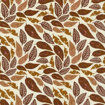 Leutenegger - Day Dreaming - Falling Leaves - Brown/Gold