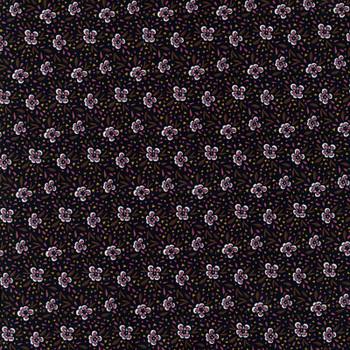 Leutenegger - Day Dreaming - Floral Dots - Black