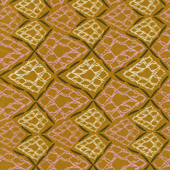 Leutenegger - Day Dreaming - Geometric Bushes - Gold