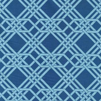 Leutenegger - Romantic Rebel - Geometric Knot - Blue