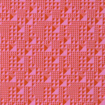 Leutenegger - Romantic Rebel - Geometric - Coral/Pink