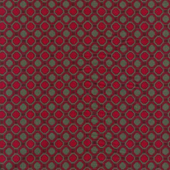 Leutenegger - Romantic Rebel - Geometric Cirlces - Red/Grey