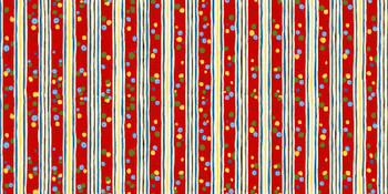 River's Bend - Round Up - Stripe - Red