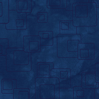 River's Bend - H2O - Floating Squares - Blue