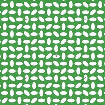 Benartex - Dino Age - Dinosaur Eggs - Green
