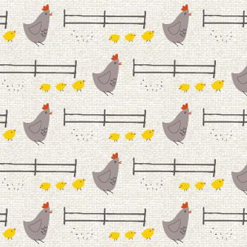 Studio E - Wildflower Farm - Chickens - Grey