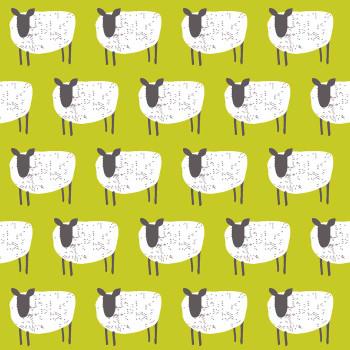 Studio E - Wildflower Farm - Sheep - Yellow