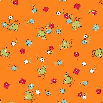 River's Bend - Playtime - Birdies - Orange