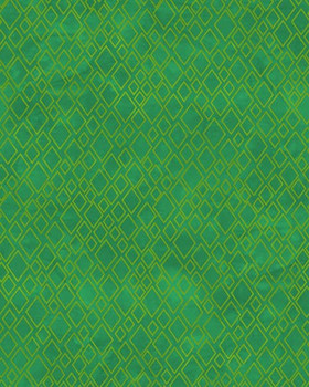River's Bend - Twist and Shout - Diamonds Allover - Green